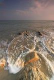 Monsoon Seascape In Kuantan Pahang Royalty Free Stock Image