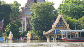 Monsoon season in Ayuttaya, Thailand Stock Photos