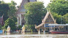 Monsoon season in Ayuttaya, Thailand Stock Photos