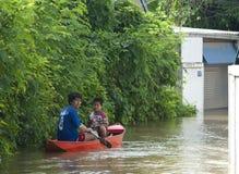Free Monsoon Season In Ayuttaya, Thailand 2011 Royalty Free Stock Photo - 21462845