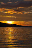 Monsoon Season Sunset Busuanga Philippines Royalty Free Stock Images