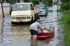 Monsoon season in Thailand Royalty Free Stock Photos