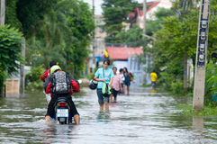 Monsoon season in Thailand Royalty Free Stock Images