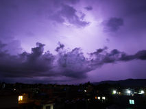 Monsoon Storm Approaching Stock Photography