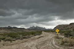 Monsoon Storm in the Desert Royalty Free Stock Photography