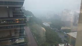 monsoons Arkivbilder