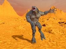 monster Fotografia Stock Libera da Diritti