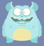Monster. Cute Smiling Monster. Cartoon Illustration Stock Photography