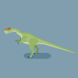 Monster Allosaurus Royalty Free Stock Image