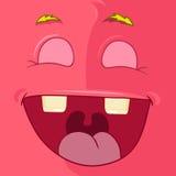 Monster Avatar. Cartoon Character Funny Monster. Vector EPS 10. Avatar Royalty Free Stock Images