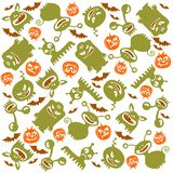 Monster background Stock Image