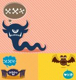 Monster Backgrounds 4 Royalty Free Stock Image