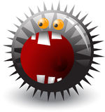 Monster ball. Royalty Free Stock Photography