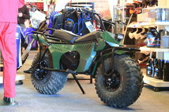 Monster-bike Royalty Free Stock Photo
