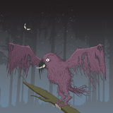 Monster Bird Royalty Free Stock Images