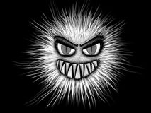 Monster, Black And White, Eyes Stock Photography