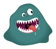 Monster blob Royalty Free Stock Photography