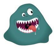Monster blob. Cartoon illustration of a monster blob royalty free illustration