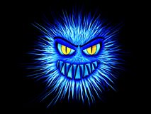 Monster, Blue, Internet, Security Royalty Free Stock Image