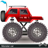 Monster car Stock Photography
