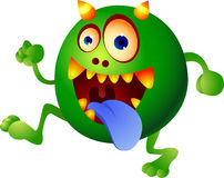 Monster cartoon Stock Image