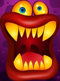 Monster cartoon Royalty Free Stock Photo