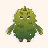 Monster cartoon theme elements vecotr,eps Royalty Free Stock Photo