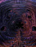 Monster cave, 3D CG stock image