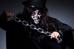 Monster chained Royalty Free Stock Photo