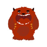 Monster character. Vector illustration of cute little monster, nice character Royalty Free Stock Photography