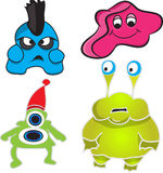 Monster characters Royalty Free Stock Photography