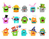 Monster Characters Stock Photography