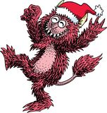 Monster Christmas Party Stock Images