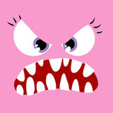 Angry Monster wife Stock Photography