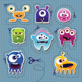 Monster collection stock illustration