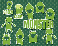 Monster collection Royalty Free Stock Photos