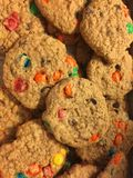 Monster cookies Stock Image