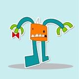 Monster. Cute cartoon monster character vecter Stock Photo