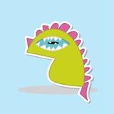 Monster. Cute cartoon monster character vecter Stock Image