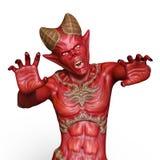 Monster. 3D CG rendering of a monster royalty free illustration