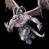 Monster. 3D CG rendering of a monster royalty free stock photos