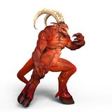 Monster. 3D CG rendering of a monster Royalty Free Stock Image