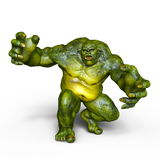 Monster. 3D CG rendering of a monster Royalty Free Stock Images