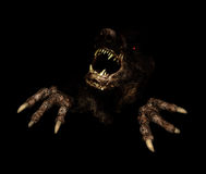Monster in dark Royalty Free Stock Photos