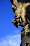 Monster in de blauwe hemel Royalty-vrije Stock Foto's