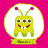 Monster design Royalty Free Stock Photos