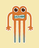 Monster design Stock Images