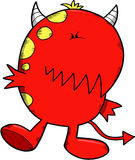 Monster Devil Vector Royalty Free Stock Image