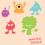 Monster doodle Royalty Free Stock Photos