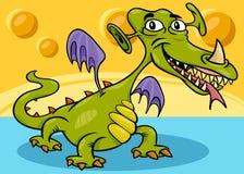 Monster or dragon cartoon Royalty Free Stock Photos